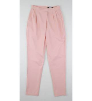 Missguided Size 6 Peach Trousers