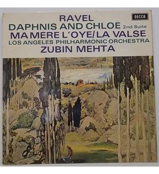 Ravel: Daphnis and Chloe 2nd Suite Mehta, Zubin - SXL 6488