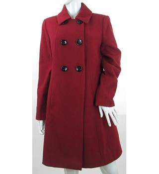 Laura Ashley - Size: 14  M - Red - Coat