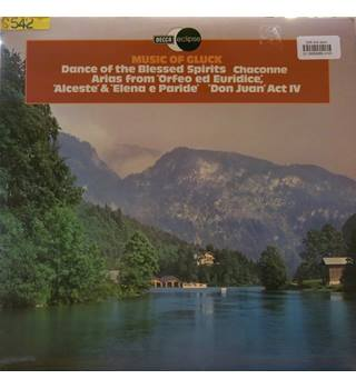 Music of Gluck: Dance of Blessed Spirits, Chaconne, Arias from Orfeo, Alceste & Don Juan. Decca ECS806