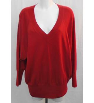 BNWOT M&S red jumper Size 18
