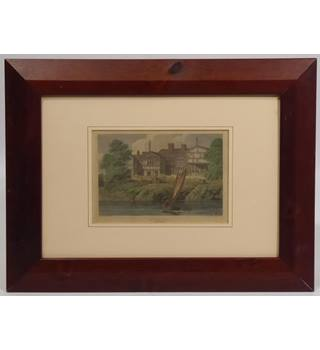 Framed print of Hulme Hall, Lancashire