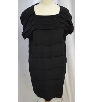 Silk black shift dress Bruuns Bazaar - Size: 14