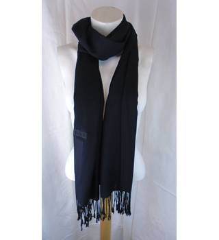 NWOT M&S BLACK SCARF M&S Marks & Spencer - Size: One size - Black - Scarf