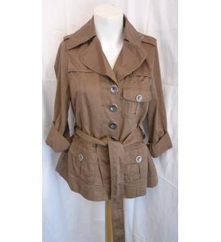 BROWN LIGHTWEIGHT JACKET FROM MARC JACOBS, SIZE 4 Marc Jacobs - Size: 4 - Brown - Jacket