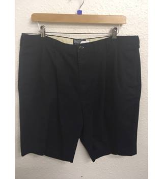 Polo by Ralph Lauren - Classic Navy Blue Chino Shorts - Size: Large