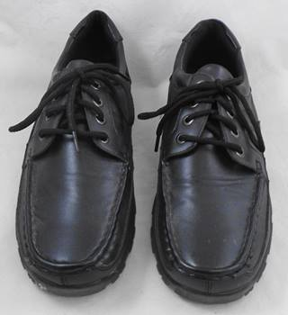 Becket black lace-up shoes Size 8
