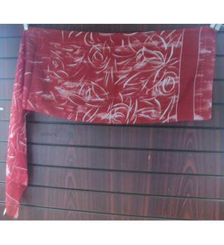 Modern made in Italy - Size: One size - Red - Scarf