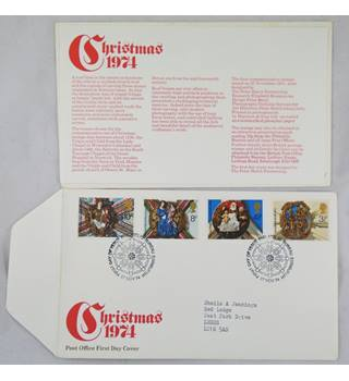 A pack of 18  British First day Covers issued in 1973 and 1974