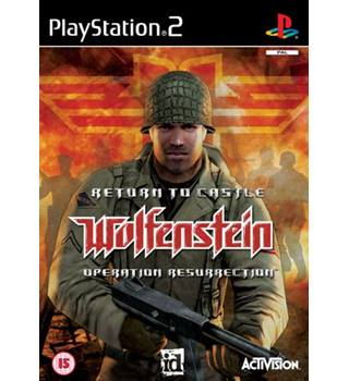 Return To Castle Wolfenstein , PS2