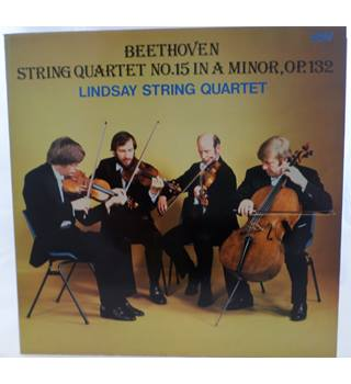 Beethoven - String Quartet No. 15 in A minor, Op.132. Lindsay String Quartet - ACA 1015