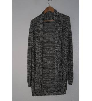 Marc O'Polo - Long sleeved Black and White Cardigan - Size: L