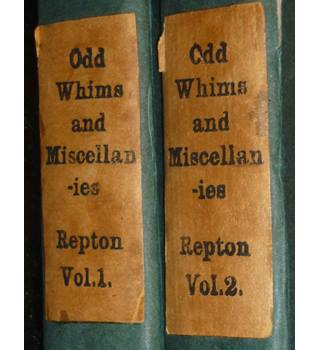 Odd Whims and Miscellanies - 2 volumes