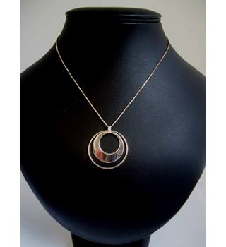 Silver 925 - Size: Medium - Pendant with chain