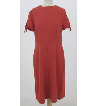 NWOT M&S Size:16 terracotta day dress
