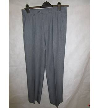 "New M and S grey mix light weight trousers waist 32 M&S Marks & Spencer - Size: 32"" - Grey - Trousers"
