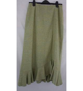 Kaliko - Size: 12 - Green - Patterned skirt
