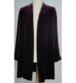 East - Medium - Plum Dressing Gown