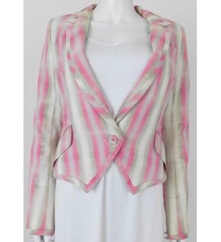 Matthew Williamson Size 8 Multi-coloured Blazer