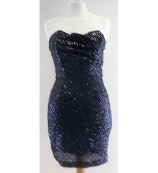 TFNC London - Size: S - Black - Sequinned Cocktail dress