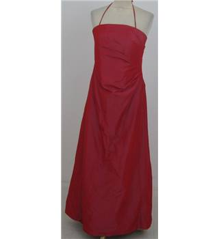 Monsoon Size:12 red evening dress