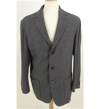 Hugo Boss Size: M grey mix wool / silk jacket