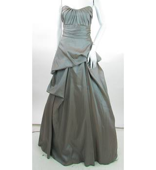 BNWT - Wtoo - Size: 10 - Slate Blue -  Full Length Prom dress