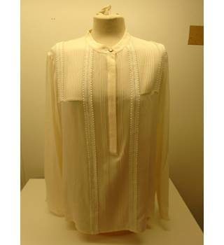 M&S Marks & Spencer - Size: 18 - Cream / ivory - Blouse (L7)