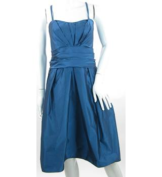 BNWT - Wtoo - Size: 14 - Blue - Taffeta Knee Length Prom dress