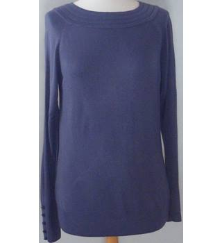 Marks & Spencer size: 14 purple knitted top