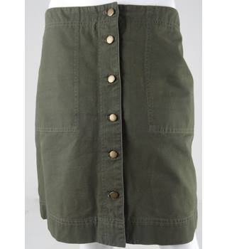 RALPH LAUREN Khaki Knee-Length Skirt Size 8