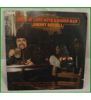Johnny Russell ‎– She's In Love With A Rodeo Man - APLI-0542