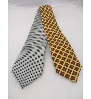 Silk Aquascutum Ties, Set of Two