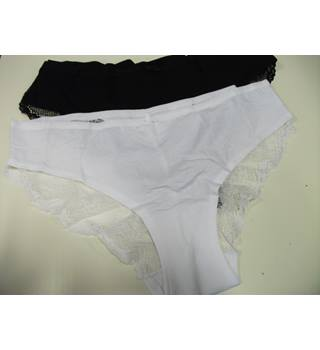 2 Pairs Marks & Spencer 'Brazilian Knickers Size 14