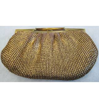 Accessorize gold clutch evening bag Accessorize - Size: Not specified - Metallics - Clutch bag