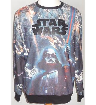 Cedar Wood State Size: M Star wars jumper