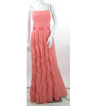 BNWT - Wtoo - Size: 12 - Pink - Chiffon Full-Length Prom dress