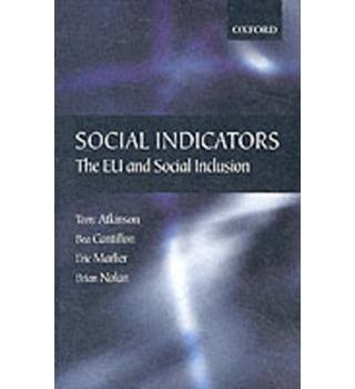 Social indicators.. the EU and social inclusion
