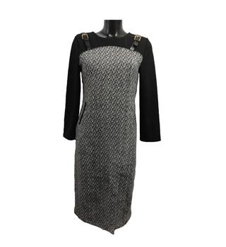 Angel Feng - Size: M - Black - Knee length dress