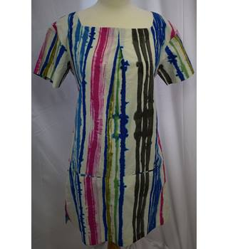 Toast Tie Dye Dress Toast - Size: 10 - Multi-coloured - Long dress