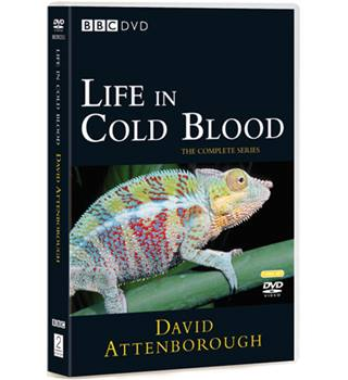 DAVID ATTENBOROUGH LIFE IN COLD BLOOD - THE COMPLETE SERIES E
