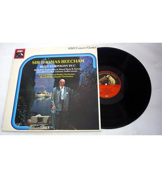 Bizet Symphony in C, Sir Thomas Beecham - SXLP30260