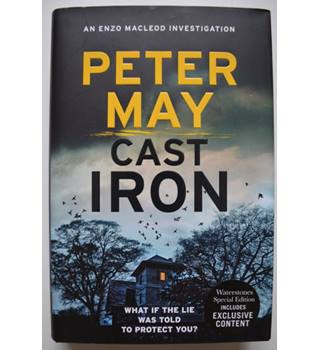 Cast Iron - Peter May - Signed 1st Edition
