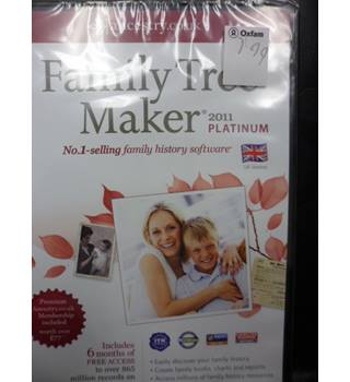 Family Tree Maker- New and sealed