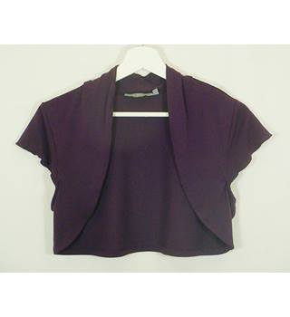 Per Una - Size: 14 - Purple - Cardigan / Shrug