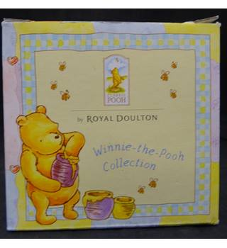 Royal Doulton Winnie the Pooh Christening Day Money Box Royal Doulton
