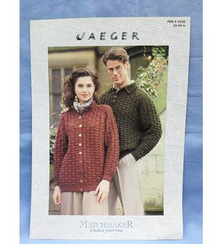 Vintage Knitting: Jaeger PBN D 5036 Jacket and Sweater