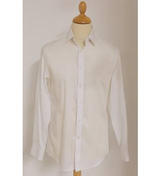 "NWOT M&S Collection size: 15"" collar white Short sleeved shirt"