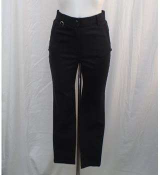 BNWOT M&S Classic black trousers Size 8M