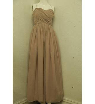Pale rose pink floor length Evening/Party dress - Size: 8
